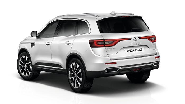Renault Koleos 2021 vista trasera