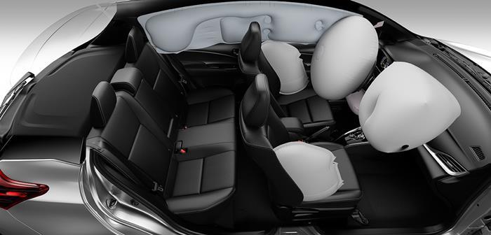 Toyota Yaris 7 airbag