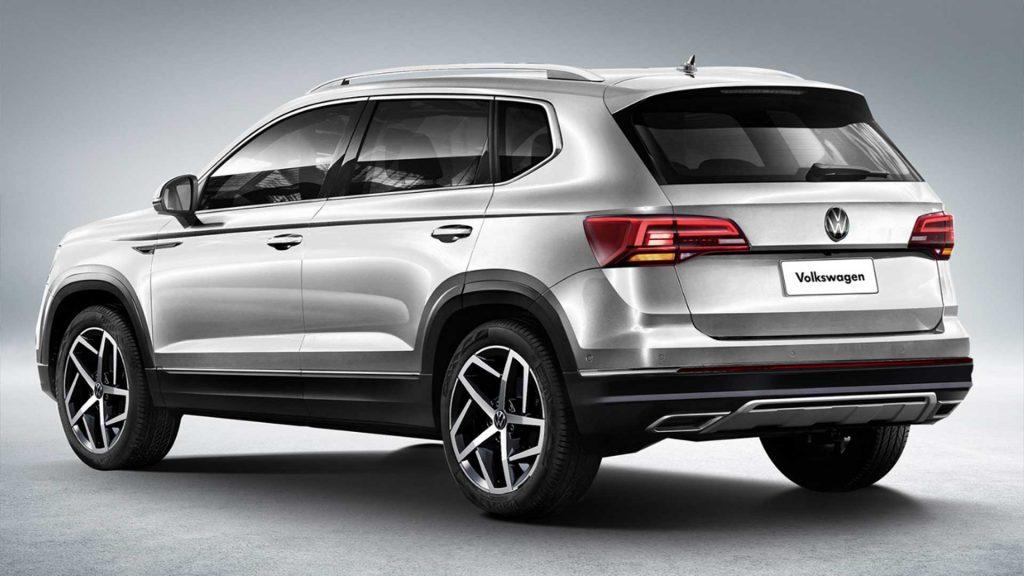 Volkswagen Taos vista trasera