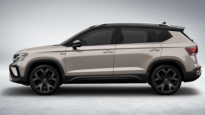 Volkswagen Taos vista lateral